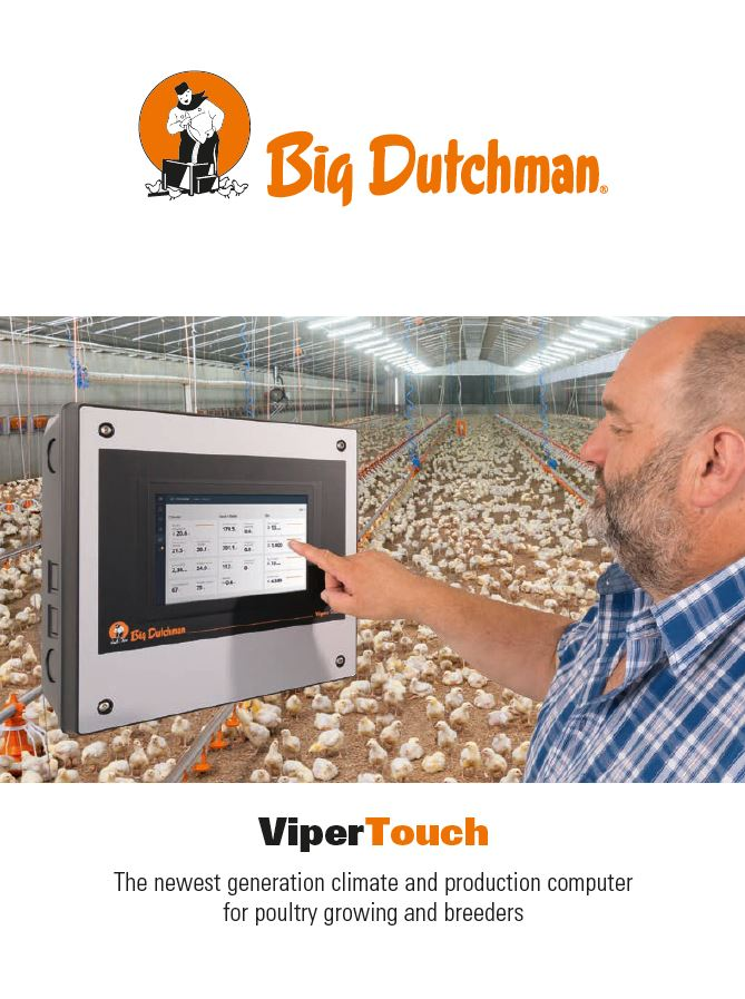 ViperTouch Climate and production computer