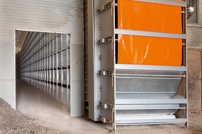 OptiSec Manure Drying Tunnel